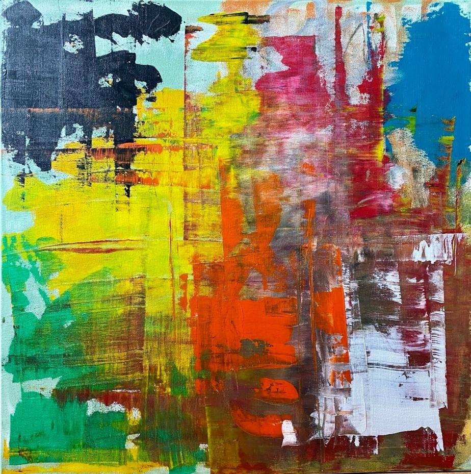 New piece on 70×70canvas